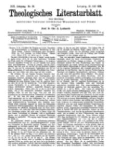 Theologisches Literaturblatt, 15. Juli 1898, Nr 28.