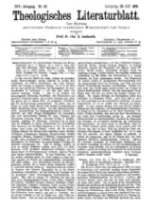 Theologisches Literaturblatt, 29. Juli 1898, Nr 30.