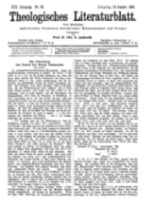 Theologisches Literaturblatt, 12. August 1898, Nr 32.