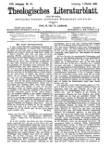 Theologisches Literaturblatt, 7. Oktober 1898, Nr 40.