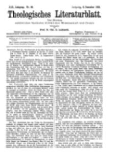 Theologisches Literaturblatt, 9. Dezember 1898, Nr 49.