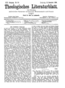 Theologisches Literaturblatt, 16. Dezember 1898, Nr 50.