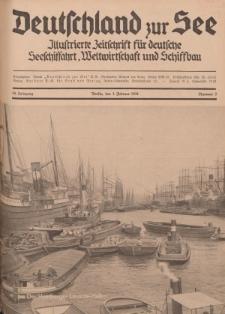 Deutschland zur See, 19. Jg. 1. Februar 1934, Nummer 2.