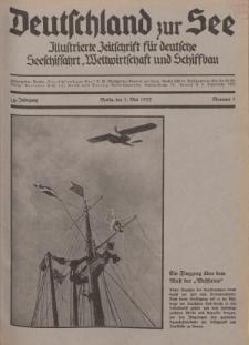 Deutschland zur See, 18. Jg. 1. Mai 1933, Nummer 5.