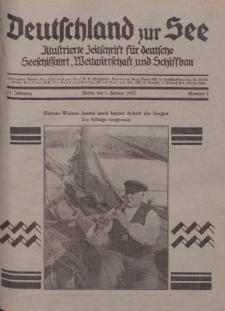 Deutschland zur See, 17. Jg. 1. Februar 1932, Nummer 2.