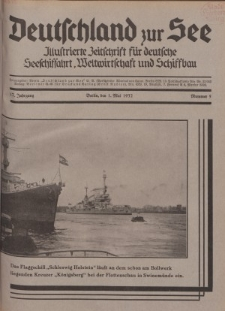 Deutschland zur See, 17. Jg. 1. Mai 1932, Nummer 5.