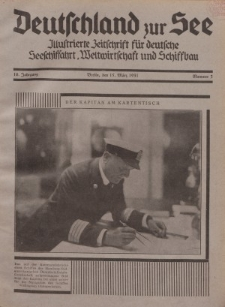 Deutschland zur See, 16. Jg. 15. März 1931, Nummer 3.