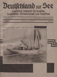 Deutschland zur See, 16. Jg. 15. April 1931, Nummer 4.