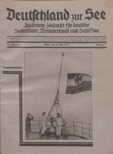 Deutschland zur See, 16. Jg. 15. Mai 1931, Nummer 5.