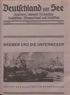 Deutschland zur See, 15. Jg. 15. Mai 1930, Nummer 5.