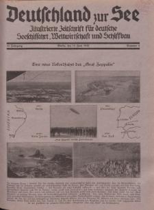 Deutschland zur See, 15. Jg. 15. Juni 1930, Nummer 6.
