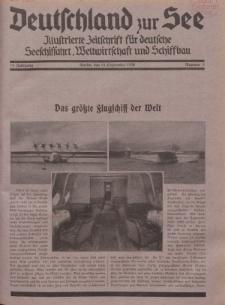 Deutschland zur See, 15. Jg. 15. September 1930, Nummer 9.