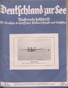 Deutschland zur See, 14. Jg. Juni 1929, Heft 6.