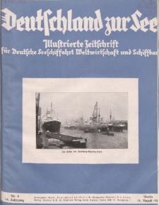 Deutschland zur See, 14. Jg. August 1929, Heft 8.