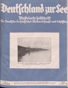 Deutschland zur See, 14. Jg. September 1929, Heft 9.