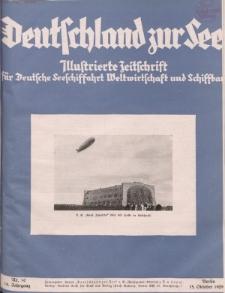 Deutschland zur See, 14. Jg. Oktober 1929, Heft 10.