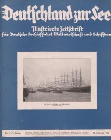Deutschland zur See, 13. Jg. Februar 1928, Heft 2.