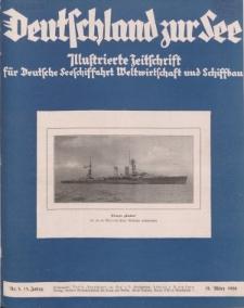 Deutschland zur See, 13. Jg. März 1928, Heft 3.