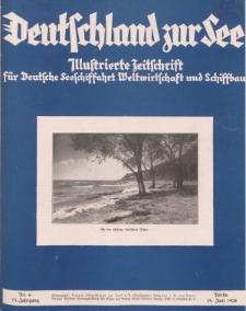 Deutschland zur See, 13. Jg. Juni 1928, Heft 6.