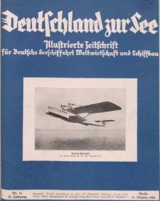 Deutschland zur See, 13. Jg. Oktober 1928, Heft 10.