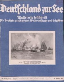 Deutschland zur See, 12. Jg. Februar 1927, Heft 2.