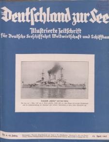 Deutschland zur See, 12. Jg. April 1927, Heft 4.