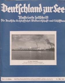 Deutschland zur See, 12. Jg. Mai 1927, Heft 5.