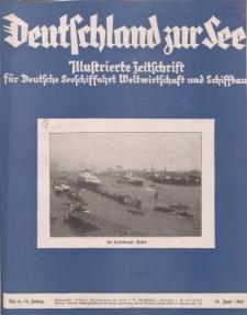 Deutschland zur See, 12. Jg. Juni 1927, Heft 6.