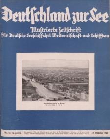 Deutschland zur See, 12. Jg. Oktober 1927, Heft 10.