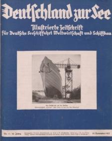 Deutschland zur See, 12. Jg. November 1927, Heft 11.