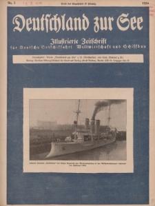 Deutschland zur See, 11. Jg. März 1926, Heft 3.