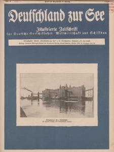 Deutschland zur See, 11. Jg. April 1926, Heft 4.