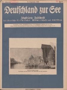 Deutschland zur See, 11. Jg. September 1926, Heft 9.