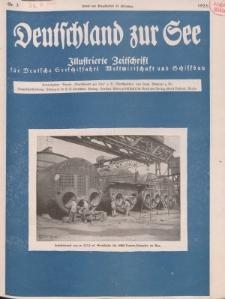 Deutschland zur See, 10. Jg. März 1925, Heft 3.