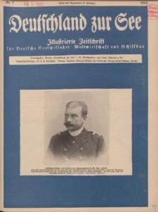 Deutschland zur See, 10. Jg. Juli 1925, Heft 7.