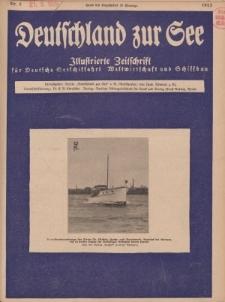 Deutschland zur See, 10. Jg. August 1925, Heft 8.