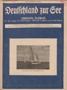 Deutschland zur See, 10. Jg. September 1925, Heft 9.