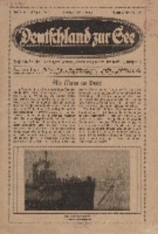 Deutschland zur See, 4. Jg. 1919, Heft 9.