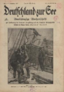 Deutschland zur See, 3. Jg. 1918, Heft 1.