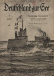 Deutschland zur See, 3. Jg. 1918, Heft 8.