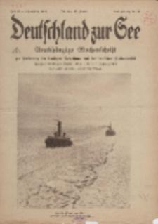 Deutschland zur See, 3. Jg. 1918, Heft 10.