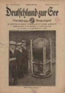 Deutschland zur See, 1. Jg. 1916, Heft 2.