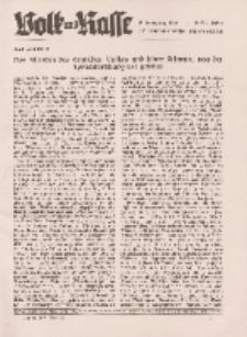 Volk und Rasse, 16. Jg. März 1941, Heft 3.