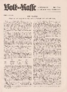 Volk und Rasse, 16. Jg. April 1941, Heft 4.