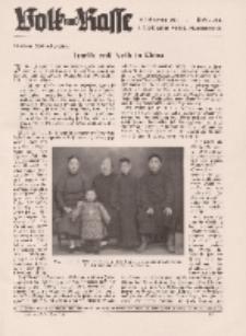 Volk und Rasse, 16. Jg. Juni 1941, Heft 6.