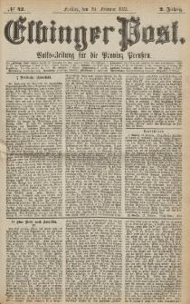 Elbinger Post, Nr. 42, Freitag 19 Februar 1875, 2 Jh