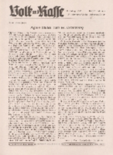Volk und Rasse, 17. Jg. Februar 1942, Heft 2.