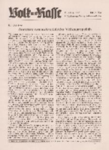 Volk und Rasse, 17. Jg. Mai 1942, Heft 5.