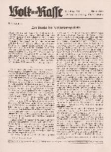 Volk und Rasse, 17. Jg. Juni 1942, Heft 6.