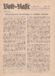 Volk und Rasse, 17. Jg. Juli 1942, Heft 7.